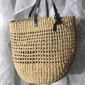Calvin Klein basket bag pre loved in very good